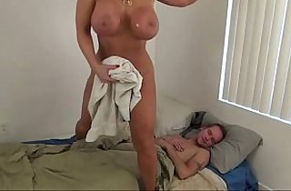 Hot Mom help Son Alura Jenson