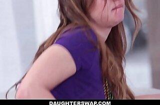 DaughterSwap Dutch Teen Fucked hard After Mardis Gras