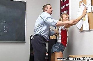 InnocentHigh Teacher fucks teen