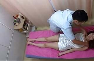 Amazely Sexy school Girl Gets Excited in Massage Session