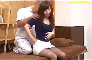Innocent Asian school Girl in Session Bad Massage