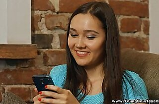 Young Courtesans Playful fucking Aziza in stocking teen hd porn
