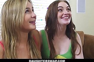 DaughterSwap Daughters Lose Bet and Fuck Dads