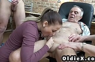 Old and young foursome