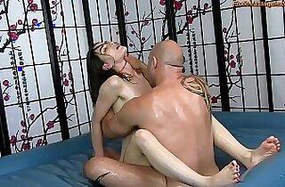 Sensual Oil Body Massage sex with Fucking