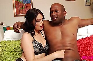 Ava Delush fucked in the ass by big black hard cock