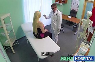 FakeHospital Sexual therapy causes new patient to squirt uncontrollably