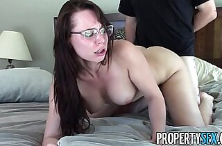 PropertySex Highly motivated real estate agent orgasmic sex with client