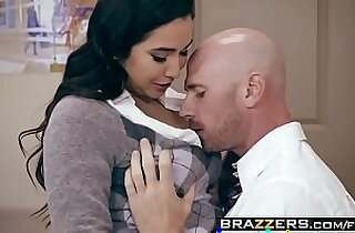 Big Tits at School No Bubblecum In The Classroom scene starring Karlee Grey and Johnny