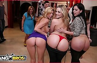 College Sex Bang Bros Style! With Alexis Texas And Friends!