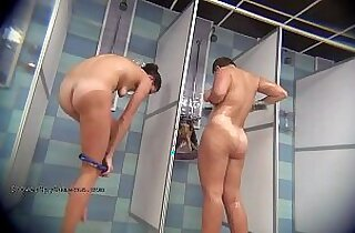 Hidden Camera Public Shower