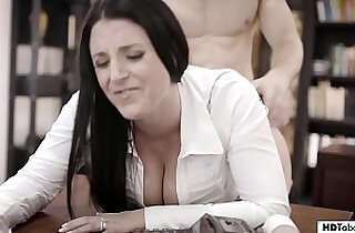Get the fuck out off my office! Angela White PURETABOO