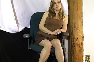 Casting agent creampies new model, Erin Electra