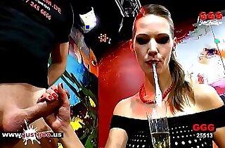 Champagne Cum and Cake for Queen of Goo Viktoria