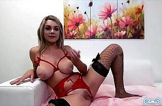 CamSoda Gabbie Carter lingerie Anal Play and Masturbation