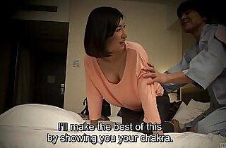 Subtitled Japanese massage oral sex nanpa in HD