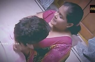 Chubby Indian Desi Lady with younger man