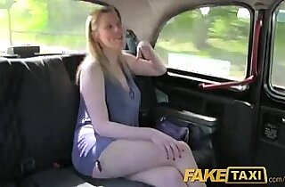 Fake Taxi Long haired MILF ass fucked on back seat