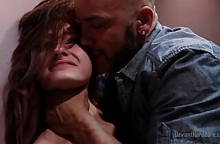 blowjob, deep throat, hairypussy, naturals, public place, redheads, xxx rough