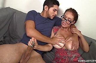 Cumblast For The Busty amateur Milf