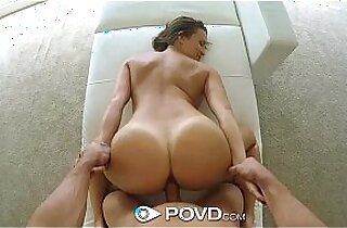 blowjob, brunette, facialized, hardcore sex, HD, POV