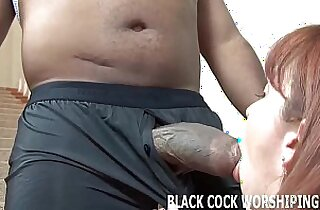 His big black hard long cock is going to fill my ass with cum
