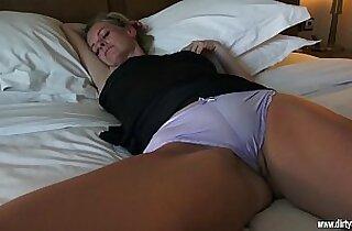 Horny as fuck with sleeping Mom