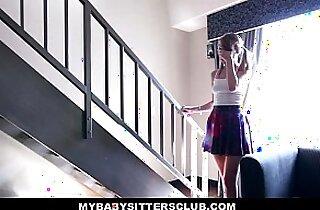 MyBabySitters Cute Young Babysitter Fucks Dad