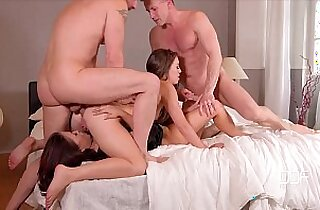 DDF Network Bros fuck a couple of super sexy Hoes