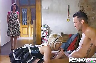 Babes Step Mom Lessons Fair Maiden starring Kai Taylor and Vicky Love and Zazie Skymm clip