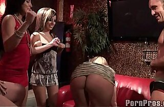 Party Sluts Bang Male Stripper.