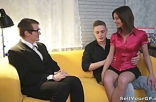 Sell Your GF Fucked Alina for her cheap ass bf